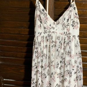 Hollister floral baby doll dress